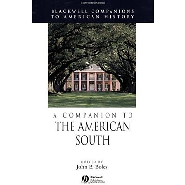 A Companion to the American South, Used Book (9781405121309)