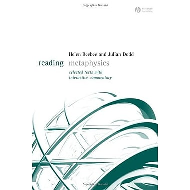 Reading Metaphysics: Selected Texts with Interactive Commentary, Used Book (9781405123679)