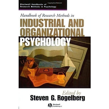Handbook of Research Methods in Industrial and Organizational Psychology, Used Book (9781405127004)