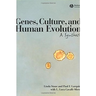 Genes, Culture, and Human Evolution: A Synthesis, New Book (9781405131667)