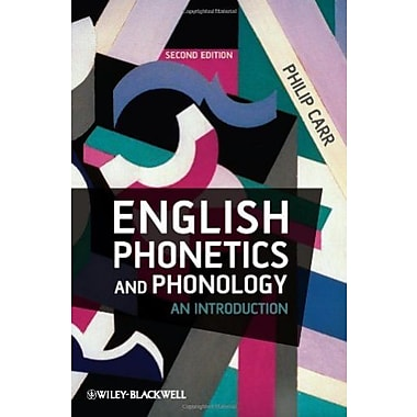 English Phonetics and Phonology: An Introduction, New Book (9781405134545)