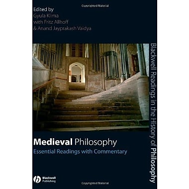 Medieval Philosophy: Essential Readings with Commentary, New Book (9781405135658)