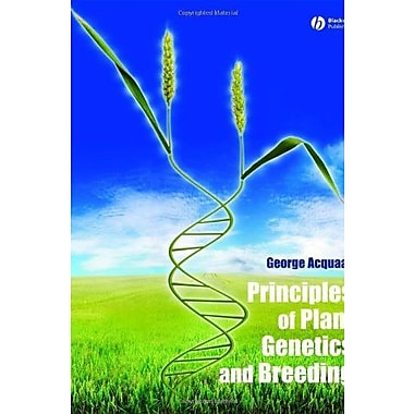 Principles of Plant Genetics and Breeding, New Book (9781405136464)