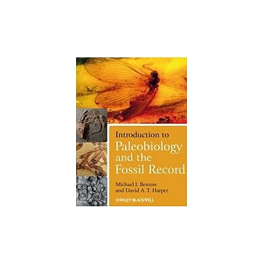 Introduction to Paleobiology and the Fossil Record, New Book (9781405141574)