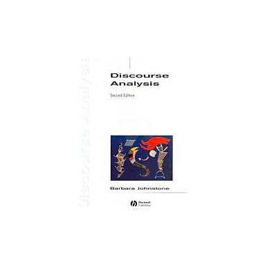 Discourse Analysis, New Book (9781405144278)