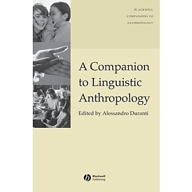 A Companion to Linguistic Anthropology, Used Book (9781405144308)