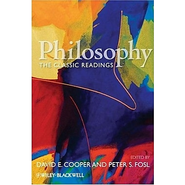 Philosophy: The Classic Readings, New Book (9781405145862)