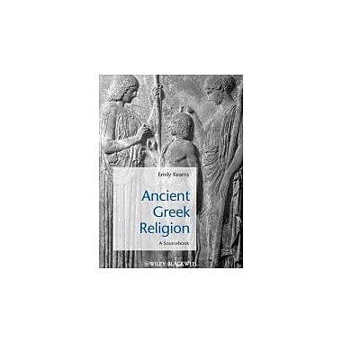 Ancient Greek Religion: A Sourcebook, New Book (9781405149280)
