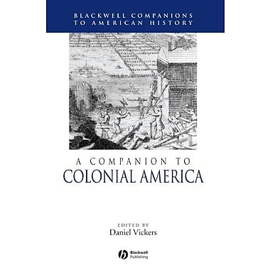 A Companion to Colonial America, Used Book (9781405149853)