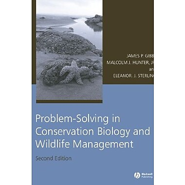 Problem-Solving in Conservation Biology and Wildlife Management, Used Book (9781405152877)