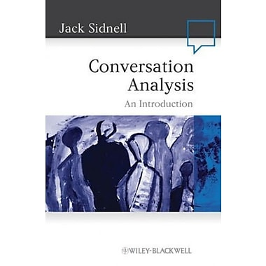 Conversation Analysis: An Introduction, Used Book (9781405159012)