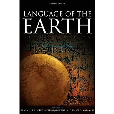 Language of the Earth: A Literary Anthology, New Book (9781405160674)