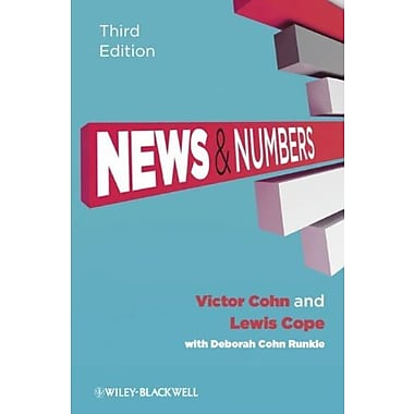 News and Numbers: A Writer's Guide to Statistics, Used Book (9781405160964)