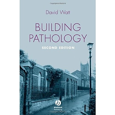 Building Pathology: Principles and Practice, New Book (9781405161039)