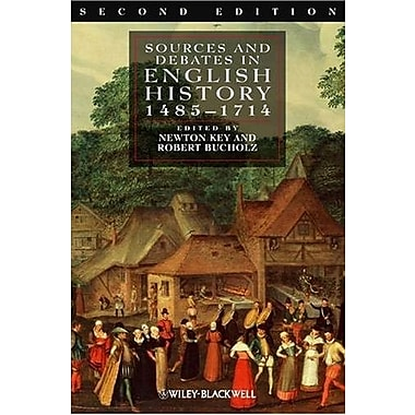 Sources and Debates in English History: 1485-1714, New Book (9781405162760)