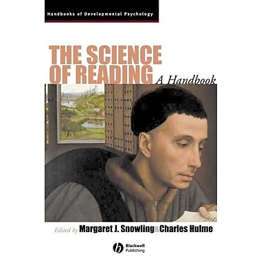 The Science of Reading: A Handbook, New Book (9781405168113)