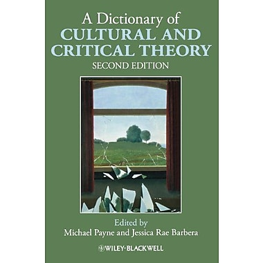 A Dictionary of Cultural and Critical Theory, Used Book (9781405168908)