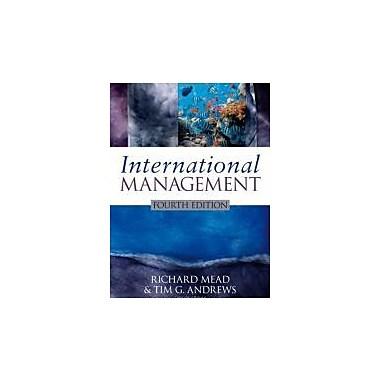 International Management, Used Book (9781405173995)