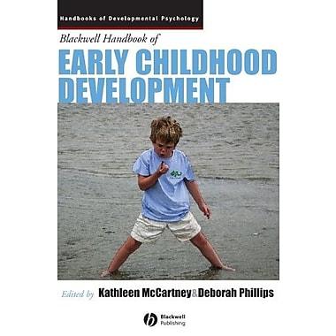 Blackwell Handbook of Early Childhood Development, New Book (9781405176613)