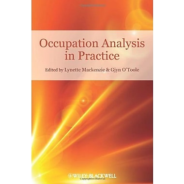 Occupation Analysis in Practice, Used Book (9781405177382)