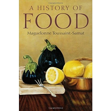 A History of Food, Used Book (9781405181198)