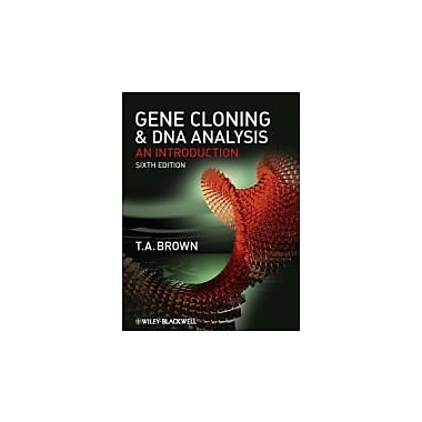 Gene Cloning and DNA Analysis: An Introduction, New Book (9781405181730)