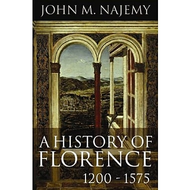 A History of Florence 1200-1575, New Book (9781405182423)