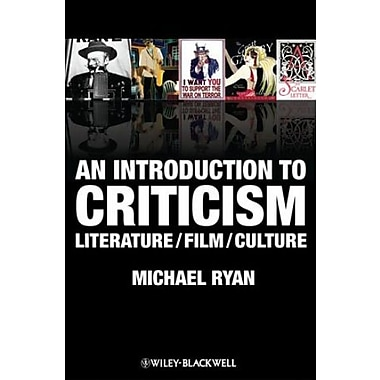 An Introduction to Criticism: Literature - Film - Culture, Used Book (9781405182829)