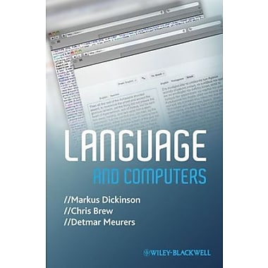Language and Computers, Used Book (9781405183055)