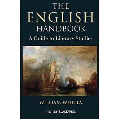 The English Handbook: A Guide to Literary Studies, New Book (9781405183758)
