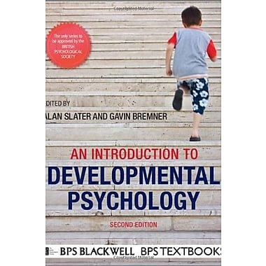 An Introduction to Developmental Psychology, New Book (9781405186520)