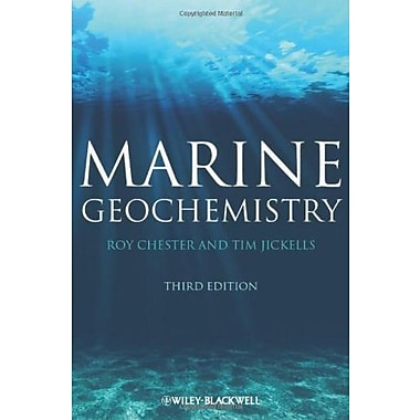 Marine Geochemistry, New Book (9781405187343)