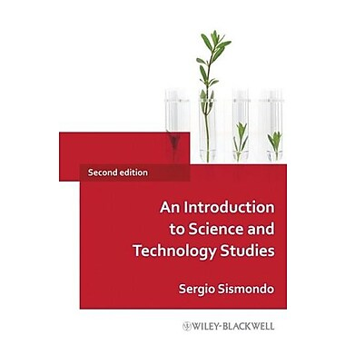 An Introduction to Science and Technology Studies, New Book (9781405187657)