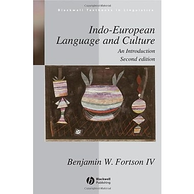 Indo-European Language and Culture: An Introduction, New Book (9781405188968)