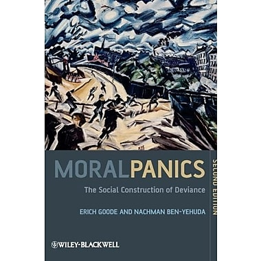 Moral Panics: The Social Construction of Deviance, New Book (9781405189330)
