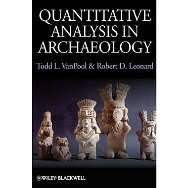Quantitative Analysis in Archaeology, New Book (9781405189507)