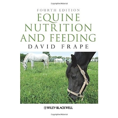 Equine Nutrition and Feeding, New Book (9781405195461)