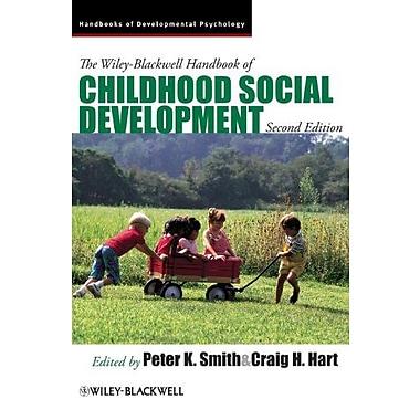 The Wiley-Blackwell Handbook of Childhood Social Development, New Book (9781405196796)