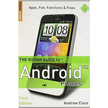 The Rough Guide to Android Phones, Used Book (9781405382823)