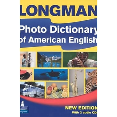 Longman Photo Dictionary of American English, New Edition (Monolingual Student Book with 2 Audio CDs), New Book (9781405827966)