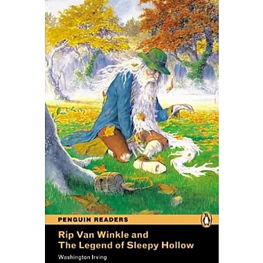 Rip Van Winkle and the Legend of Sleepy Hollow, Level 1, Penguin Readers (9781405842808), New Book