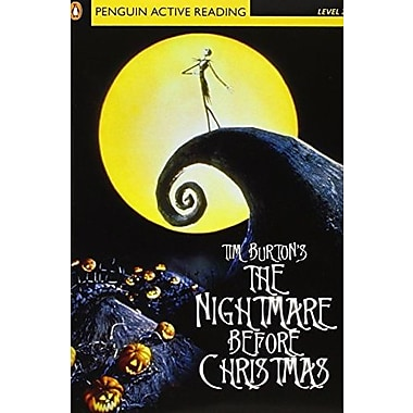 Nightmare Before Christmas, The, Level 2, Penguin Active Readers (Penguin Active Reading), New Book (9781405852104)