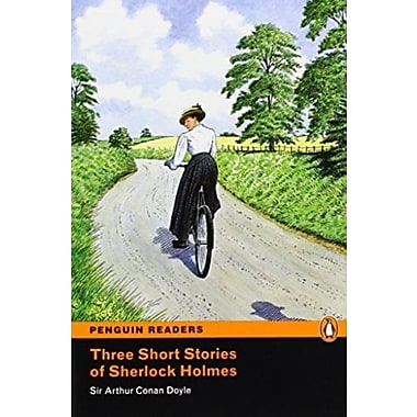 Three Short Stories of Sherlock Holmes, Level 2 Penguin Readers, Used Book, (9781405855433)