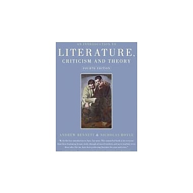 An Introduction to Literature, Criticism and Theory, Used Book (9781405859141)