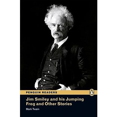 Jim Smiley and his Jumping Frog and Other Stories, Level 3, Penguin Readers (9781405862394), New Book