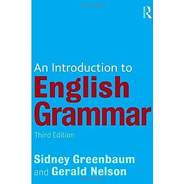 An Introduction to English Grammar (9781405874120)