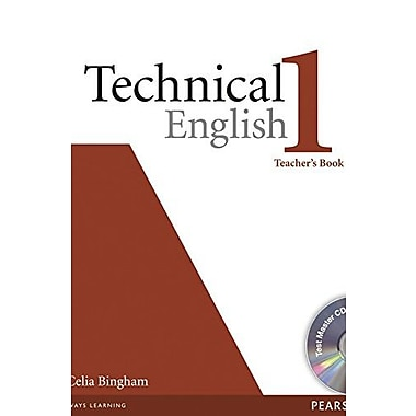 Technical English Level 1 Teacher's Book with Test Master Audio CD-ROM (9781405881449)
