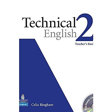 Technical English Level 2 Teacher's Book with Test Master Audio CD-ROM, Used Book (9781405881456)