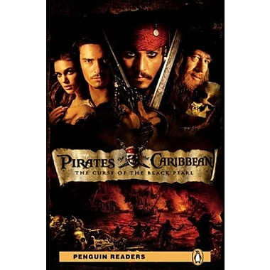Pirates of the Caribbean: Curse of the Black Pearl, Level 2 Penguin Readers, Used Book, (9781405881708)