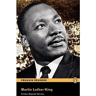 Martin Luther King, Level 3, Penguin Readers (2nd Edition) (Penguin Readers, Level 3), New Book (9781405881944)